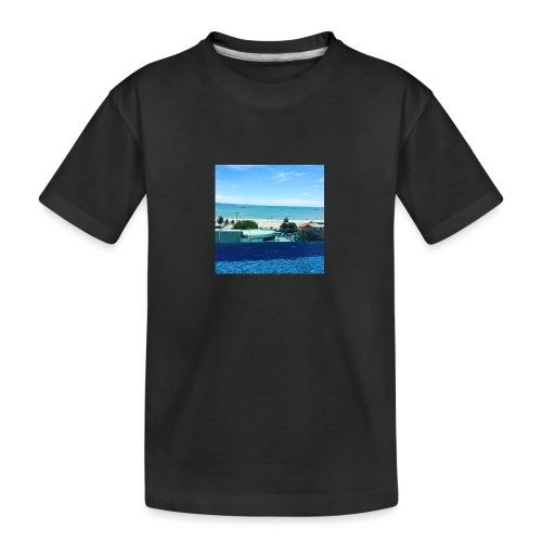 Thailand pattaya - Teenager premium T-shirt økologisk