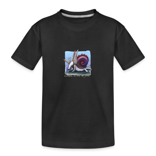 Unichiocciolo - Maglietta ecologica premium per ragazzi