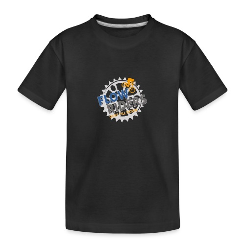 FLOWRIDERS - dust till down - Teenager Premium Bio T-Shirt