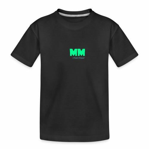 MattMonster Signature logo - Teenager Premium Organic T-Shirt