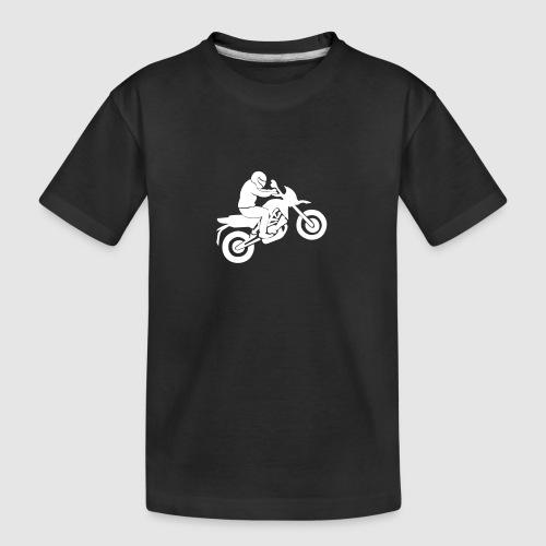 Motorradfahrer - Teenager Premium Bio T-Shirt