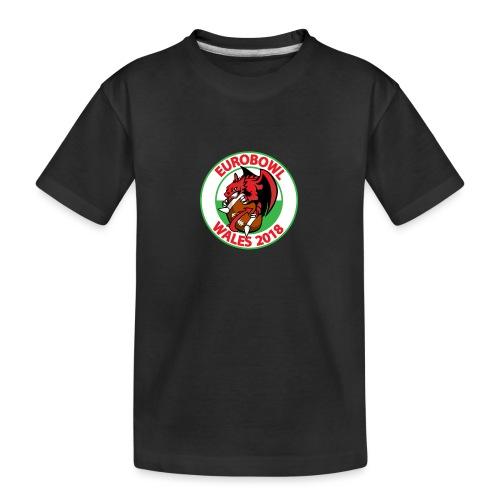 Eurobowl Wales 2018 - Teenager Premium Organic T-Shirt