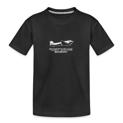 Daisy Flyby 2 - Ekologisk premium-T-shirt tonåring