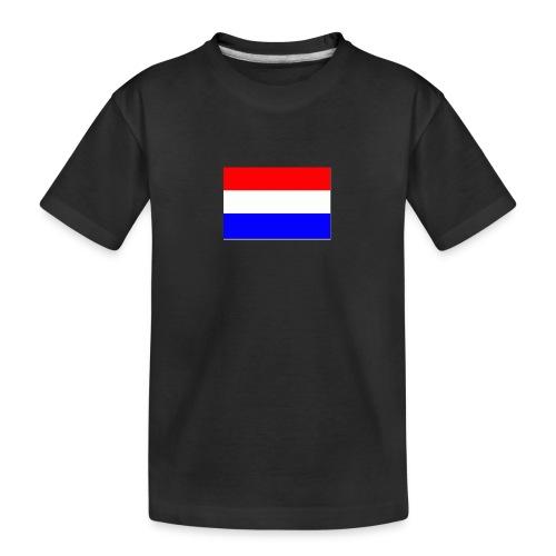 vlag nl - Teenager premium biologisch T-shirt