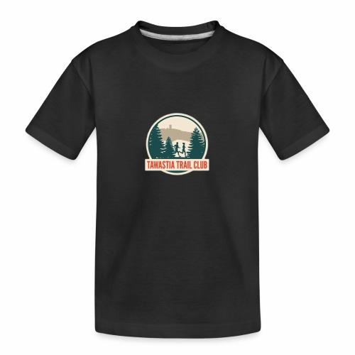 TawastiaTrailClub - Teinien premium luomu-t-paita