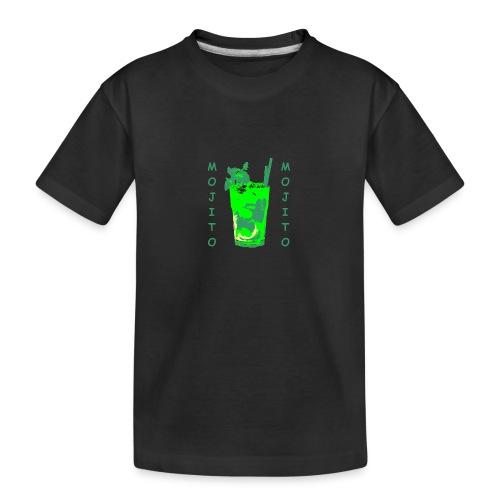 Mojito bicchiere colorato - Maglietta ecologica premium per ragazzi