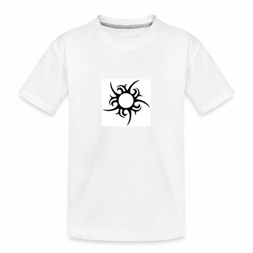 tribal sun - Teenager Premium Organic T-Shirt