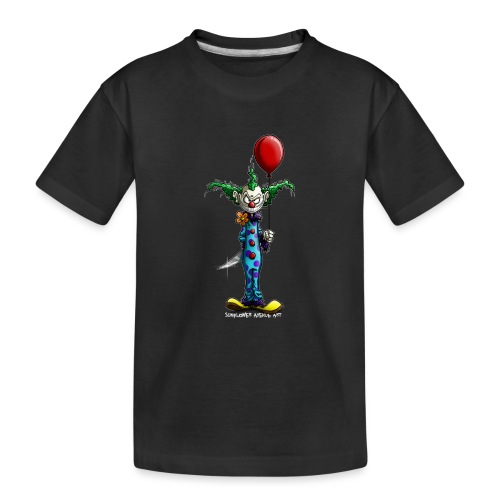 klaun tee - Ekologisk premium-T-shirt tonåring