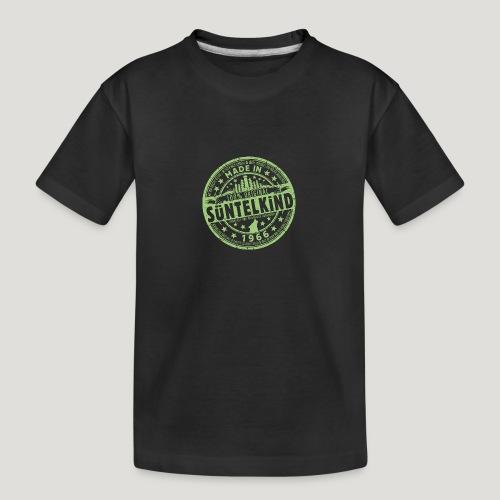 SÜNTELKIND 1966 - Das Süntel Shirt mit Süntelturm - Teenager Premium Bio T-Shirt