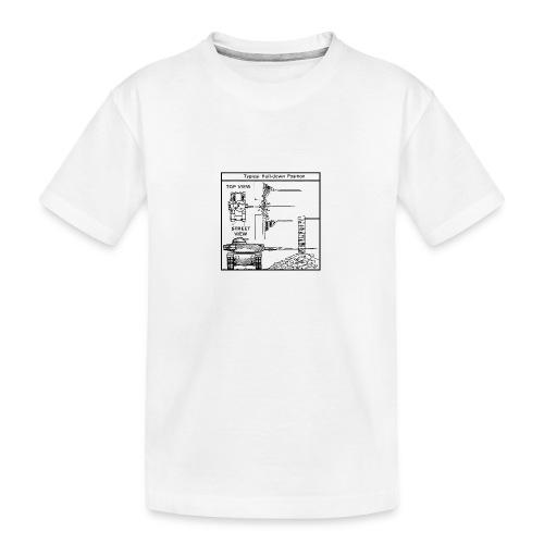 W.O.T War tactic, tank shot - Teenager Premium Organic T-Shirt