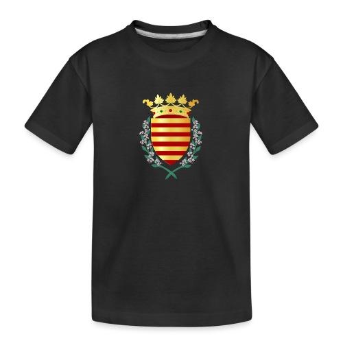 Wapenschild Borgloon - Teenager premium biologisch T-shirt