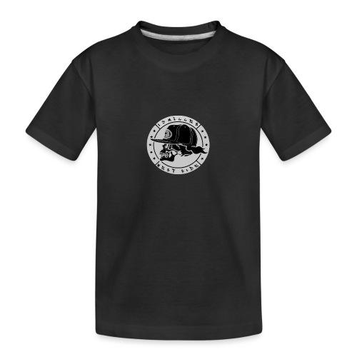 skull 13 milles noir et gris super design - T-shirt bio Premium Ado