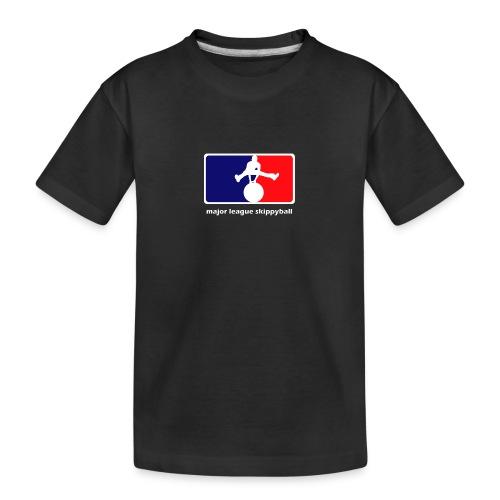 Major League Skippyball - Teenager premium biologisch T-shirt