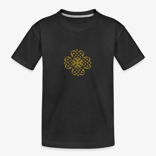 Shamrock Celtic knot decoration patjila - Teenager Premium Organic T-Shirt