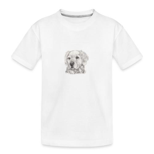 golden retriever - Teenager premium T-shirt økologisk