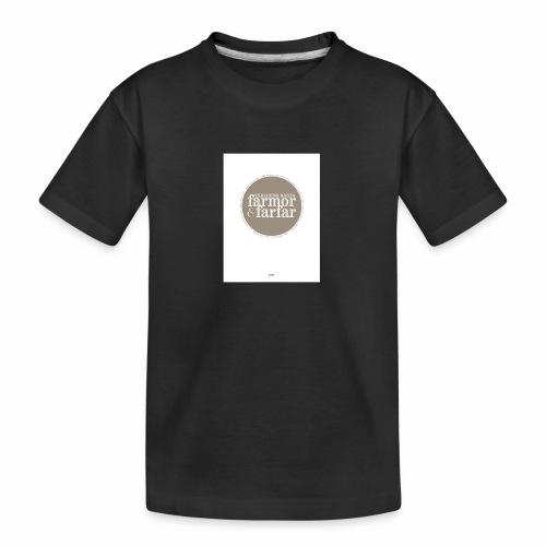 7597DD73 DF61 436F 9725 D1F86B5C2813 - Ekologisk premium-T-shirt tonåring