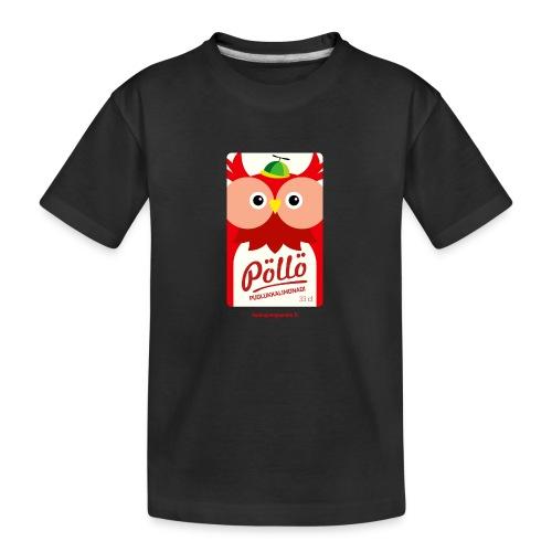 Pöllö - Teinien premium luomu-t-paita