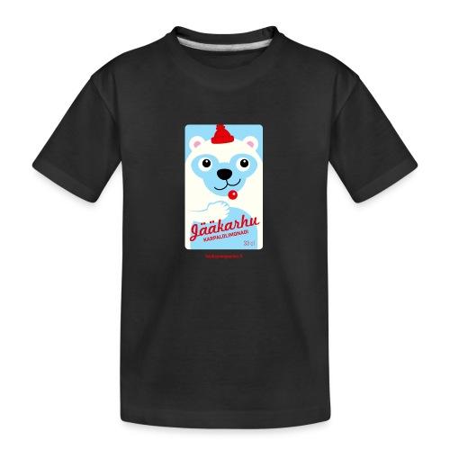 Jääkarhu - Teinien premium luomu-t-paita