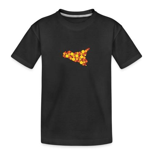 logo sicilia piccolo - Maglietta ecologica premium per ragazzi