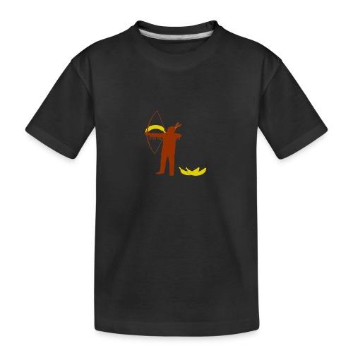 Ze schieten met bananen - Teenager premium biologisch T-shirt