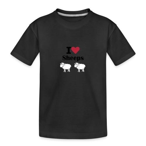 I-love-sheeps - T-shirt bio Premium Ado