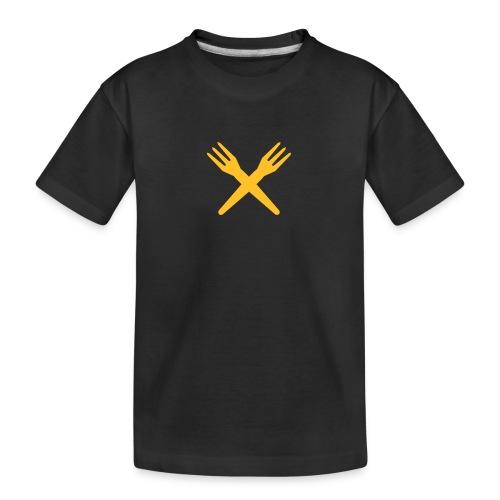 gekruiste frietvorken - trident - T-shirt bio Premium Ado