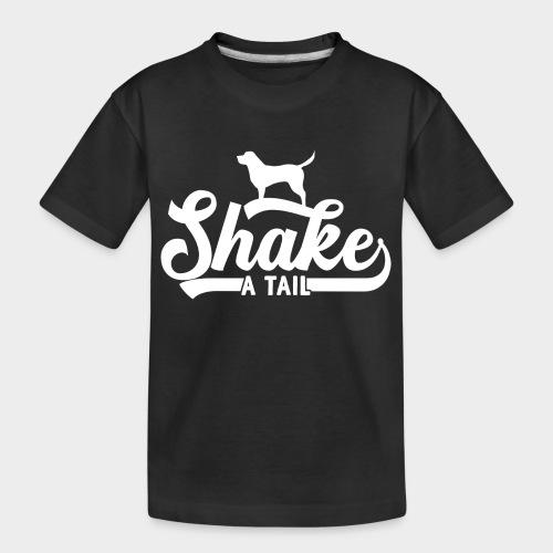 SHAKE A TAIL - Teenager Premium Bio T-Shirt