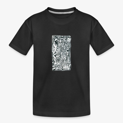 Anxiety Trip - Teenager Premium Organic T-Shirt