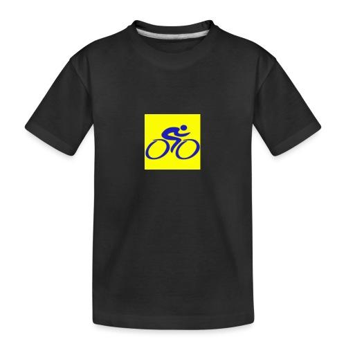 Tour de Epe Logo 2017 2018 1 png - Teenager premium biologisch T-shirt