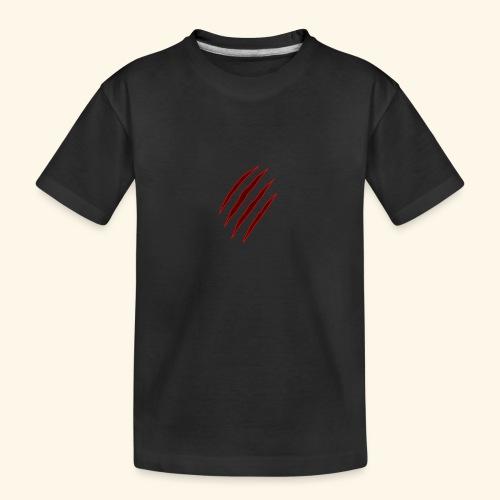 garras - Camiseta orgánica premium adolescente