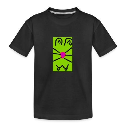 Gato :3 - Camiseta orgánica premium adolescente