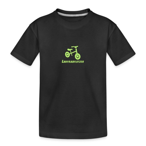 Laufradflitzer - Teenager Premium Bio T-Shirt