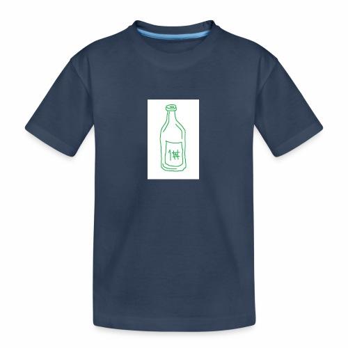 Alkoholi - Teinien premium luomu-t-paita