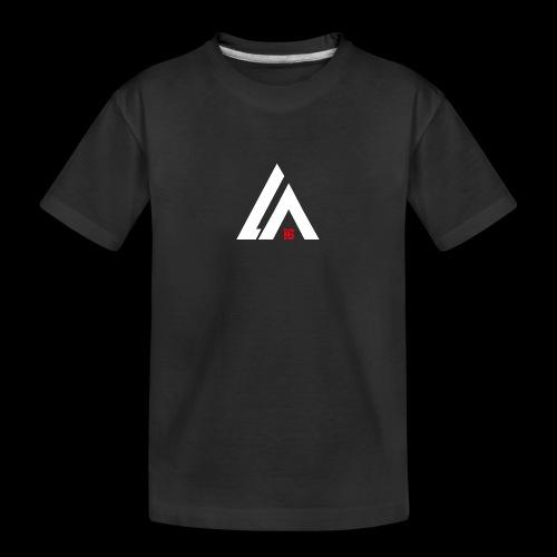 LA Performance white/red - Teenager Premium Bio T-Shirt