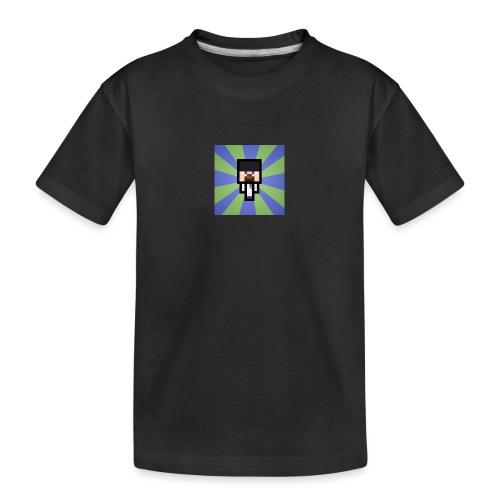 Baxey main logo - Teenager Premium Organic T-Shirt