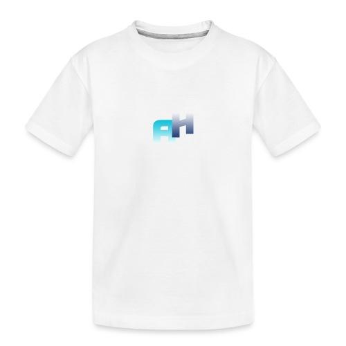 Logo-1 - Maglietta ecologica premium per ragazzi