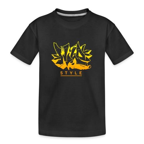 Wild Style Burner - Teenager premium T-shirt økologisk