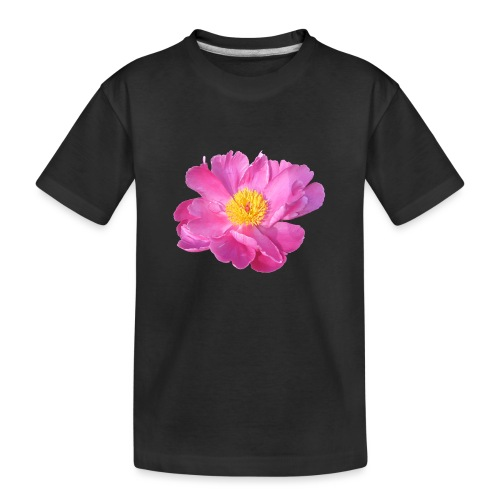 TIAN GREEN - PfingstRose - Teenager Premium Bio T-Shirt