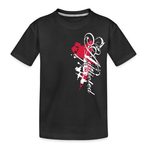addicted - Teenager Premium Bio T-Shirt