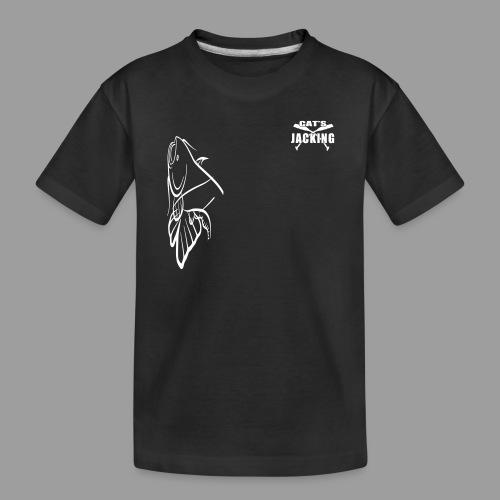 Cat's Jacking - T-shirt bio Premium Ado