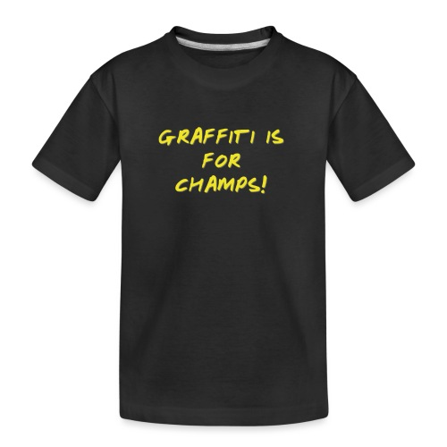 Take it from the champs - Teenager premium T-shirt økologisk