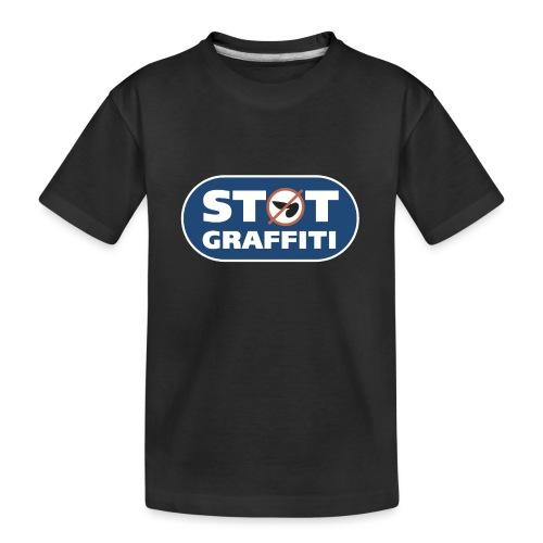 Støt Graffiti - Teenager premium T-shirt økologisk
