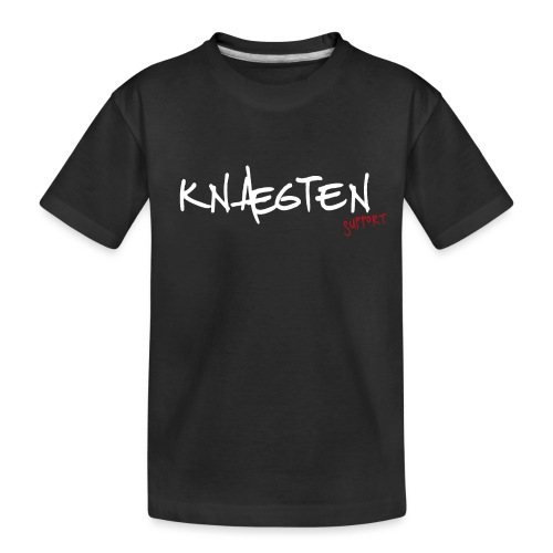 Knægten Support - Galaxy Music Lab - Teenager premium T-shirt økologisk