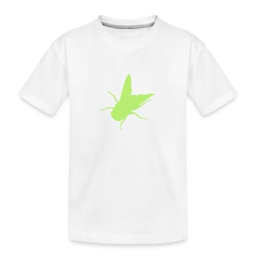 fliege - Teenager Premium Bio T-Shirt