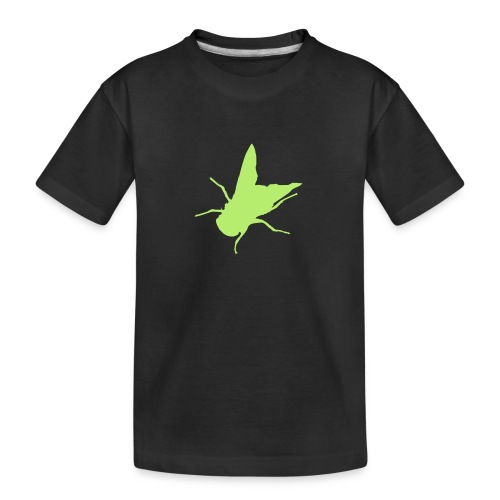 fliege - Teenager Premium Bio T-Shirt