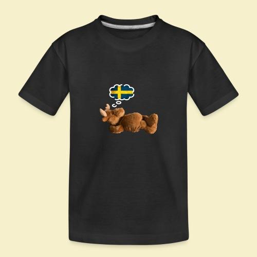 Traum von Schweden - Teenager Premium Bio T-Shirt
