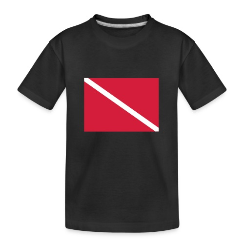 Diver Flag - Teenager Premium Organic T-Shirt
