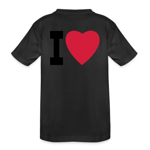 create your own I LOVE clothing and stuff - Teenager Premium Organic T-Shirt