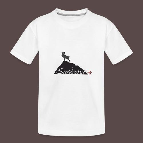 Mufflon Sardinia - Maglietta ecologica premium per ragazzi