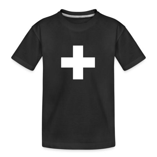 Kreuz - Teenager Premium Bio T-Shirt